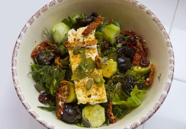 Salata (Foto: Serdar Çiçek)