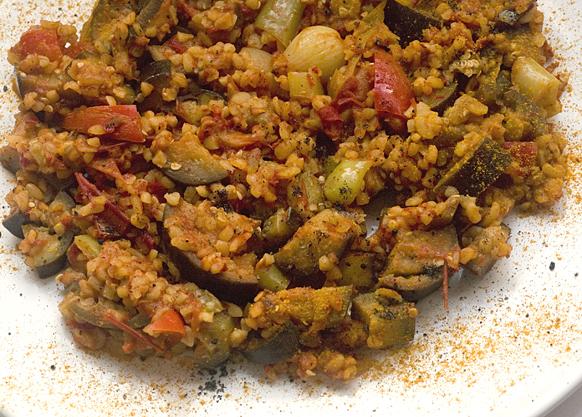 Patlıcanlı Bulgur (Foto: Serdar Çiçek)