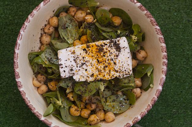 Semizotlu Bulgur Salatası